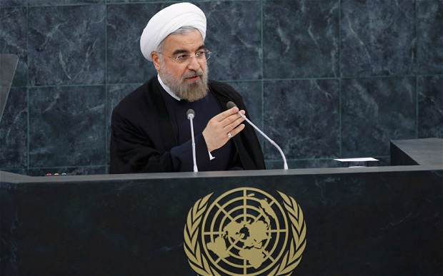 Intervento Rouhani all'ONU