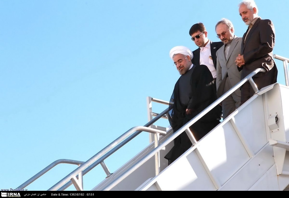 Rouhani a New York