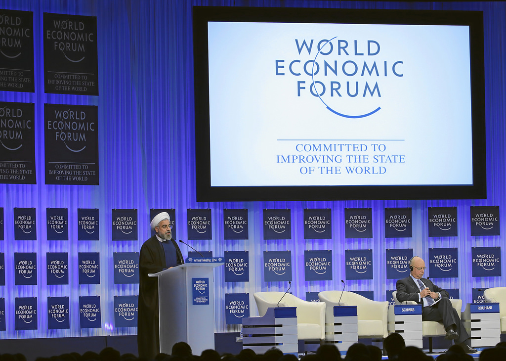 Rouhani a Davos