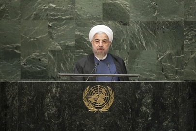 Rouhani all'ONU